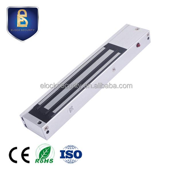 New Stainless Steel 280kg Waterproof Electromagnetic Lock With Waterproof 600lbs Zl Bracket Access Control