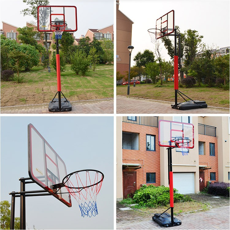 best factory basketball ring acrylic portable basketball stand