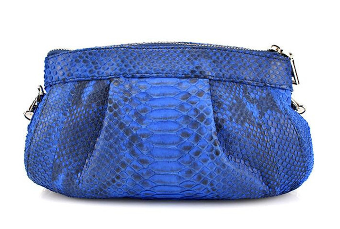 Wholesale china designer ladies handbags international brand genuine python leather women shoulder bag