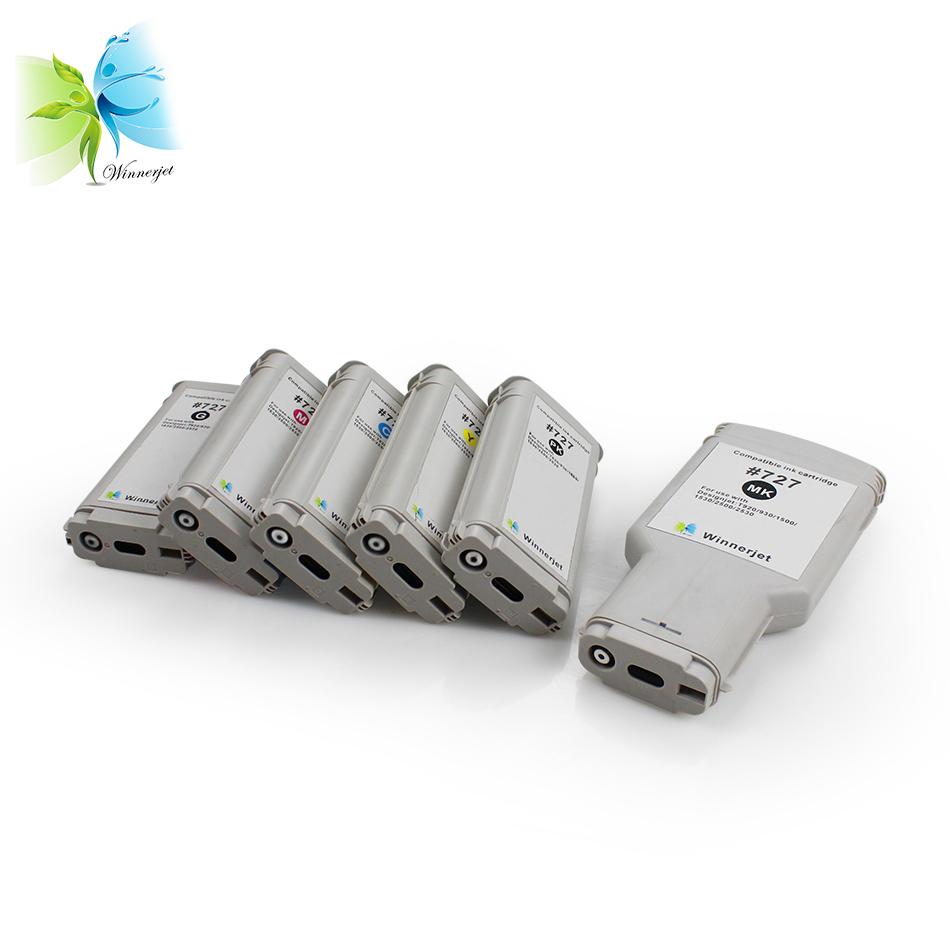 Utilizzato Rigenerate cartuccia di inchiostro 727 per HP DesignJet T920 T930 T1500 T2500 T1530 T2530 stampanti