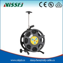 Retractable Power Extension Cord Electric Cable Reel S350GKS Made In China