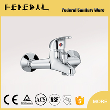 NEW design Bathroom Wall Mounted faucet Luxury brass Bath Sink tap standard taps