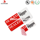 Factory direct prices colorful self- adhesive non transfer VOID stickers
