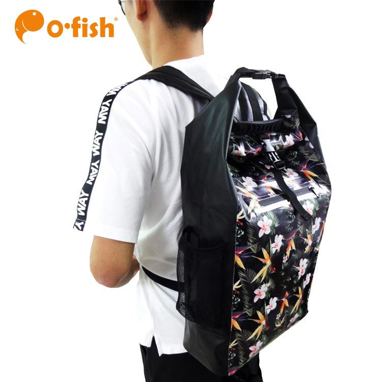 O.FISH high quality fashion 25L dry bags waterproof hiking travel backpack