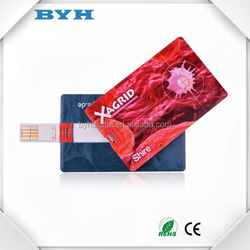 2017 best hot promotion item data pre-load usb drive card 1GB 2GB 4GB 8GB 16GB credit shape USB flash drive