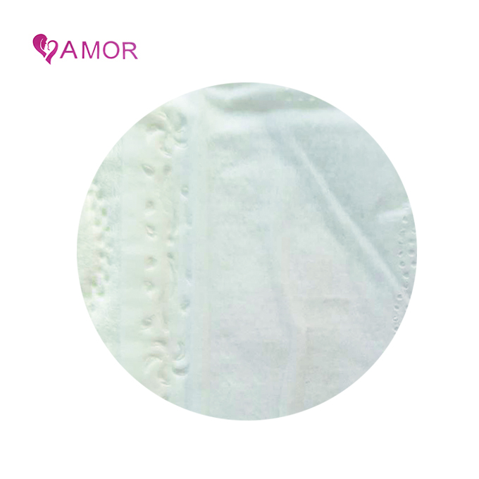 Biodegradable sanitary napkin with negative ion and adhesive tape