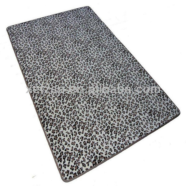 100% polyester microfiber printed luxury french carpet