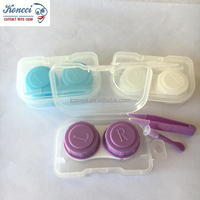 Eyeglasses Case Cute Mini Contact Lens Easy Carry Case / Contact lenses box container XY-201