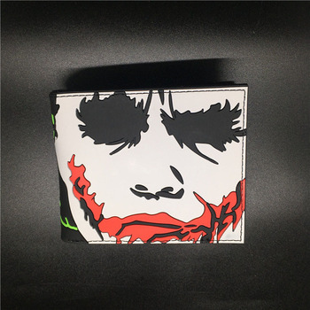 Mens The Dark Knight Joker Why So Serious Batman Wallet