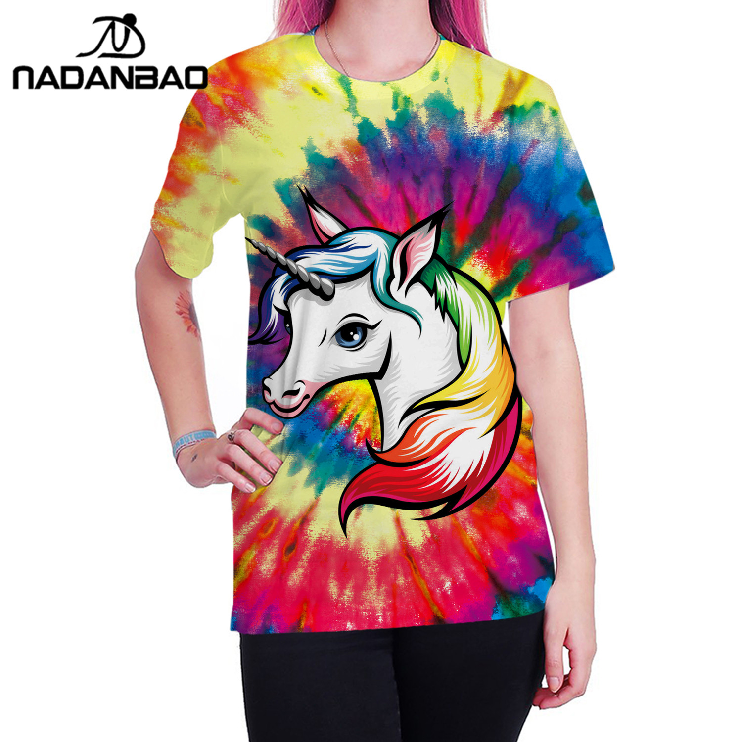 Usa Custom Shirt Nadanbao Brand T Shirts Famous Ladies L4Aj5q3R