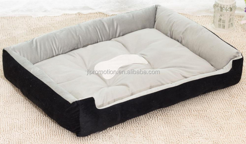 Pet Spacious Dogs Kennel Memory Foam Animals Bed
