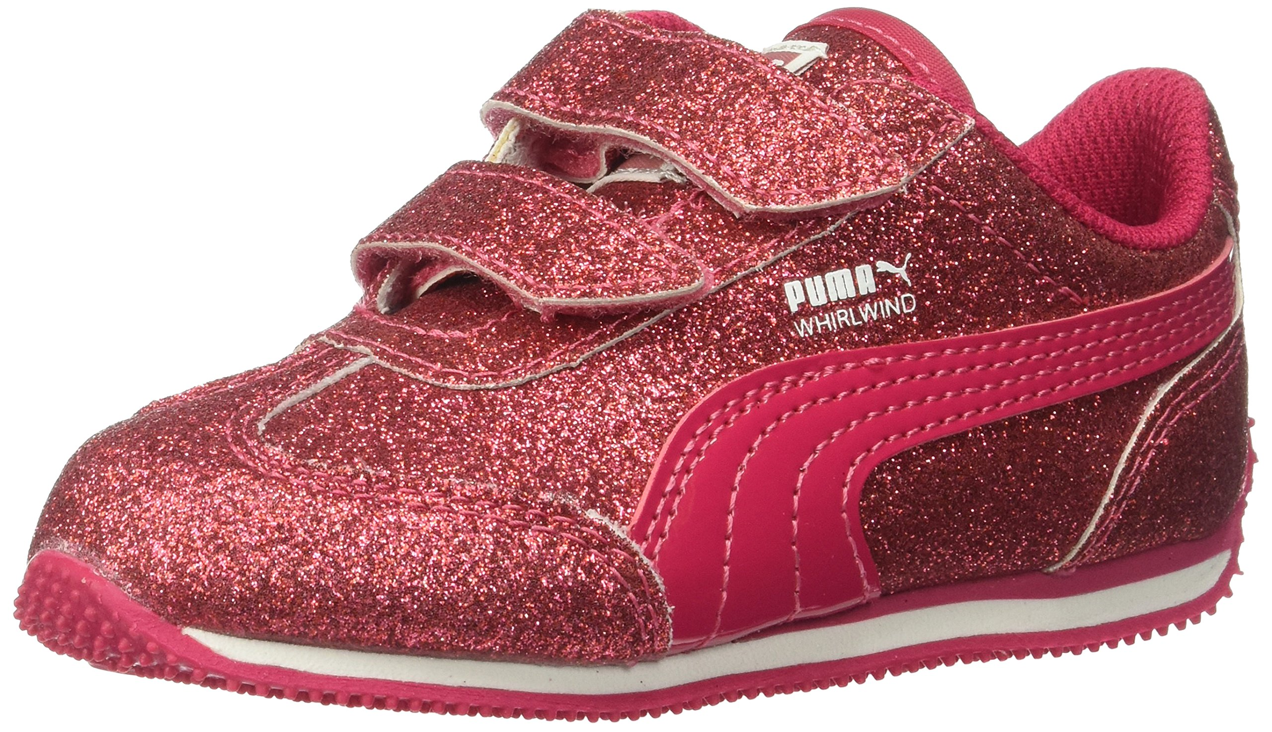 21bc24b0cb3f Get Quotations · PUMA Kids  Whirlwind Glitz V Sneaker