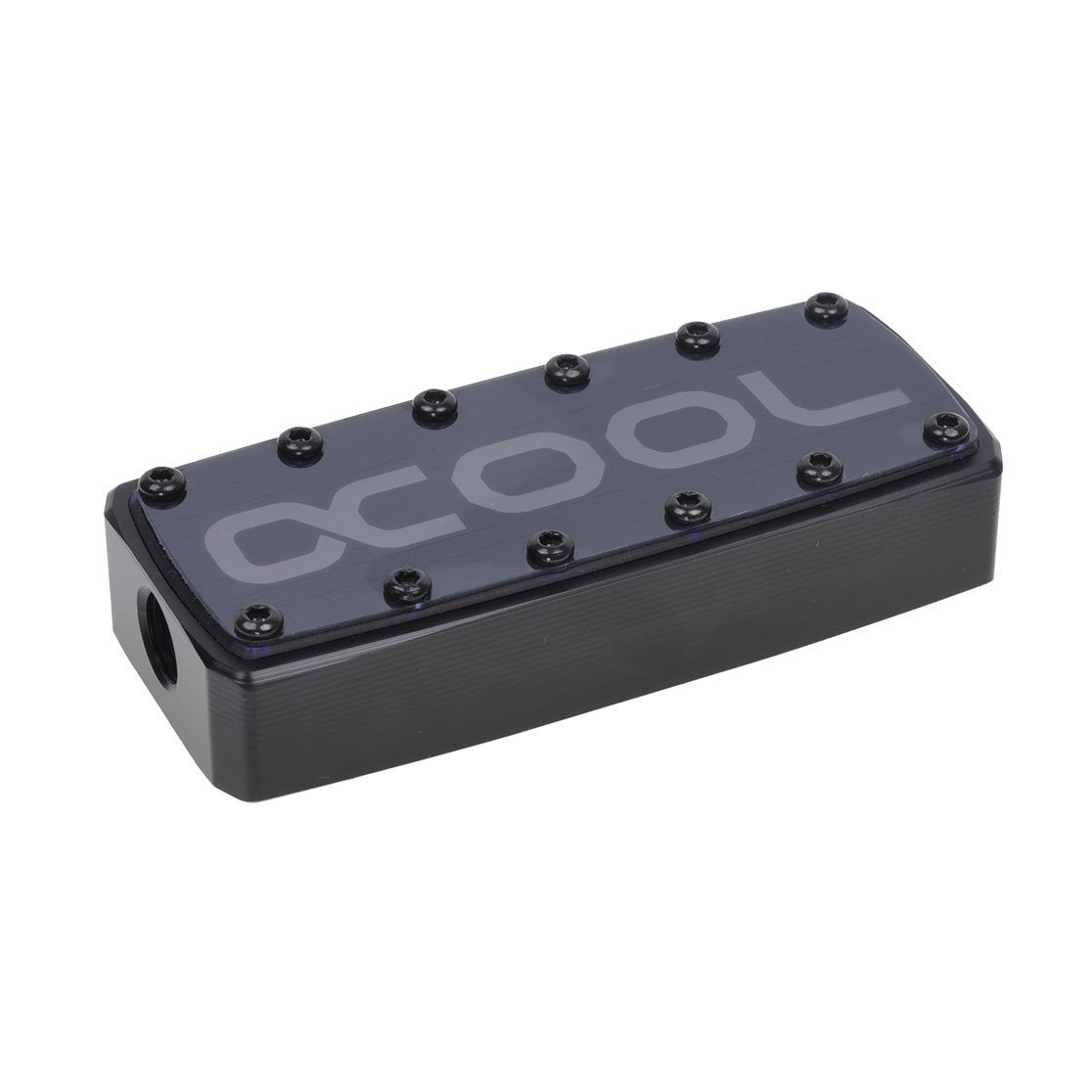 Alphacool GPX SLI Connector, Triple, Acetal, Black