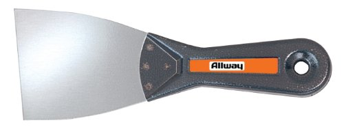 Allway Tools 3-Inch Tempered Steel Metal Handle Flexible Wall Scraper