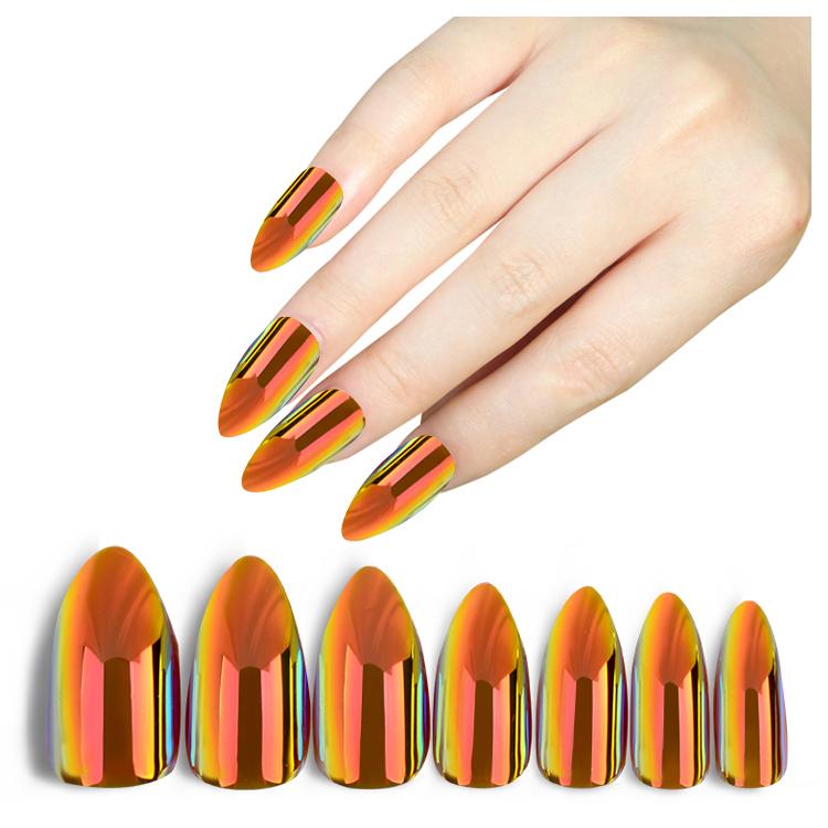 Ea Free Sample Oval Acrylic False Nail Tips Whole Full Nails Sizes