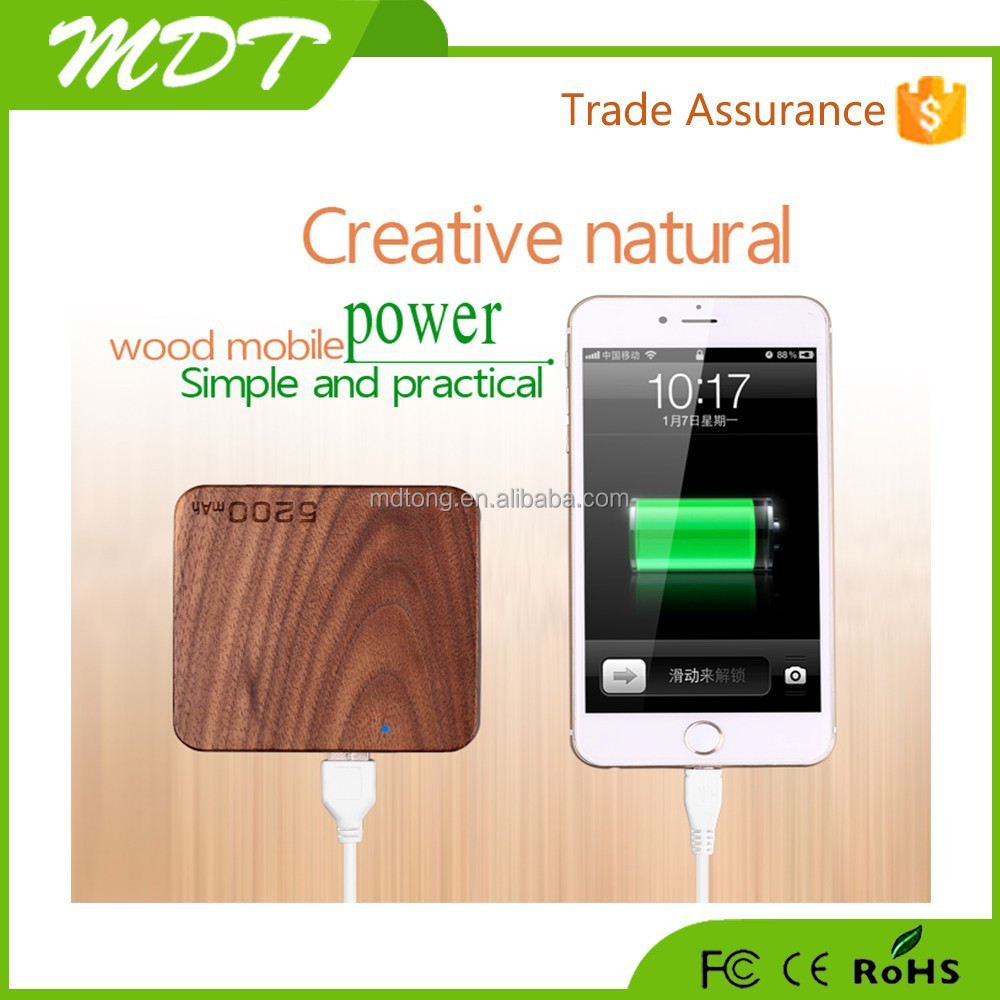Best selling with factory price power bank mifi hotspot 5200mah power bank wifi wood power bank with pouch