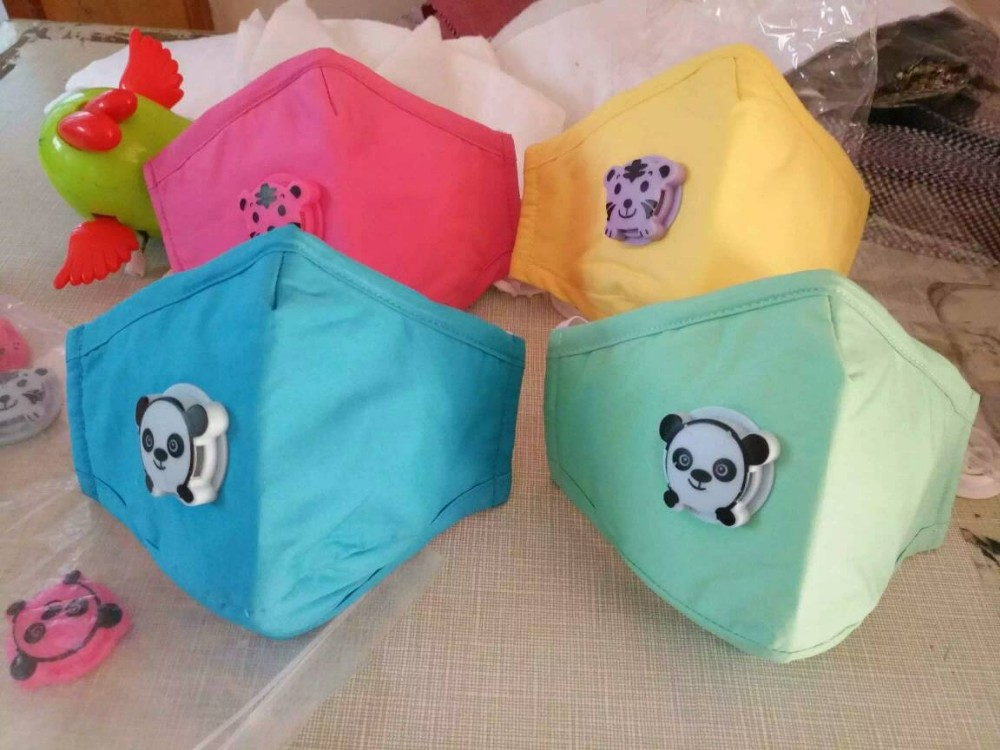 100% healthy Cotton masks OEM children Breathable Anti-pollution masks