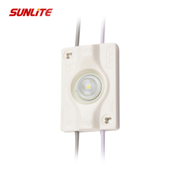 Waterproof led 1leds injection molding led module 12V outdoor for light box