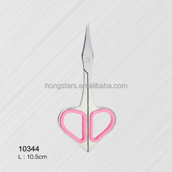 fancy embroidery scissors with wood inlay