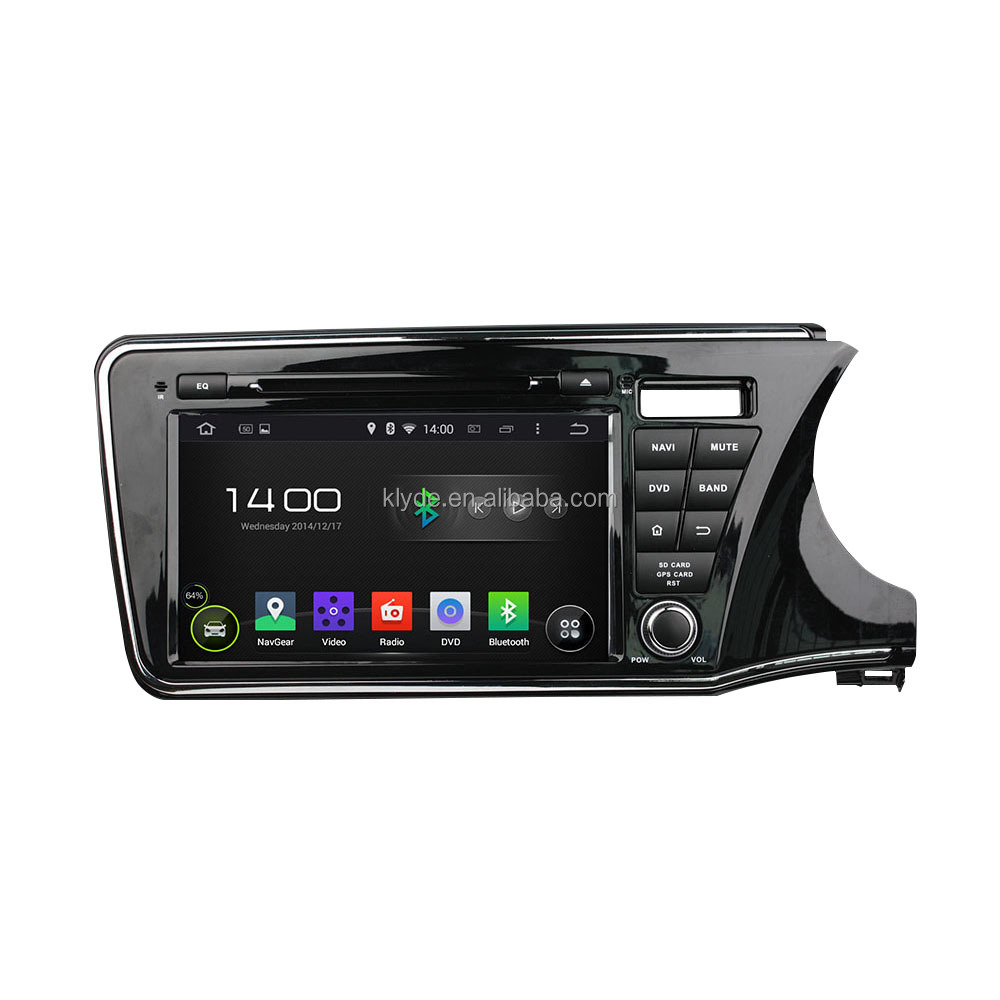 Android DVD player for Honda City 2015 multimedia gps navigation