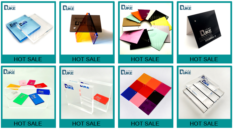 ISO 93% Ttransmittance résistant à la chaleur de conception acrylique feuilles