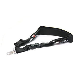 Custom Printing Logo ID Card sublimation neck Polyester Ribbon Lanyard