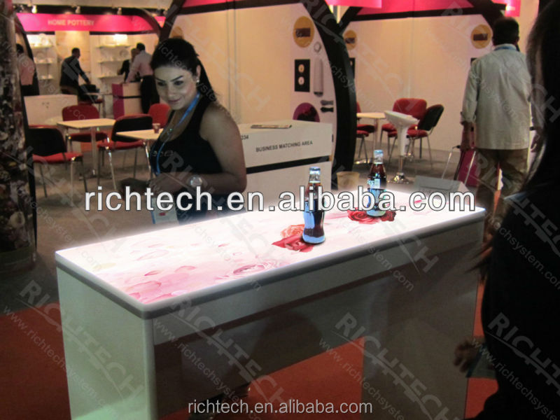 RichTech interactive bar table -the led table to make your bar become modern and arrtactive