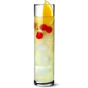 Haonai Tall Cocktail Glasses 13oz / 370ml,Highball Tumbler Soda limed Cocktail Tumbler,Dishwasher Safe