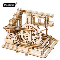 LG502 Cog Coaster Kids Educational DIY 3D Wooden Puzzle