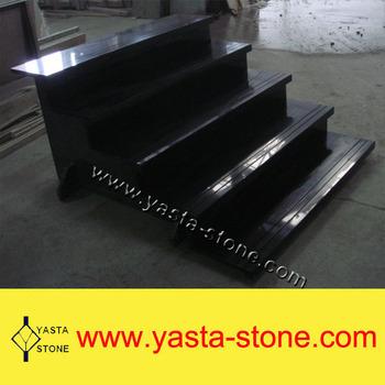 Black Granite Stair Steps