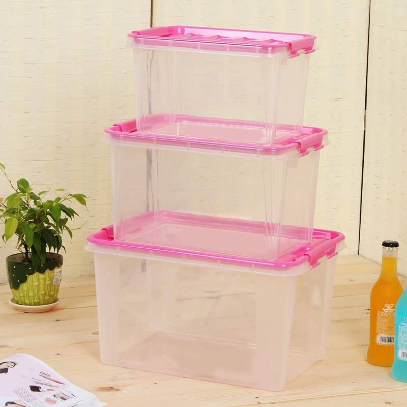 Best Selling Clear Plastic Storage Boxes Baskets