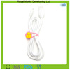 Eco-friendly material silicone earphone cabel holder cord wrap
