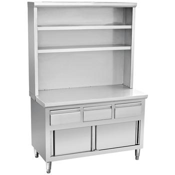 Restaurant Kitchen Stainless Steel Storage Cabinet Bn C12