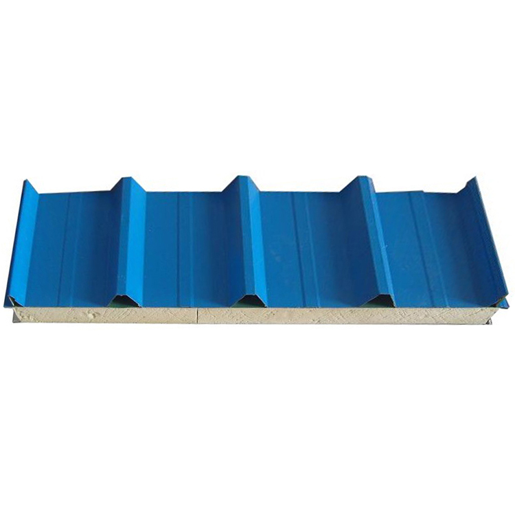 insulated PU foam corrugated sandwich roof panel