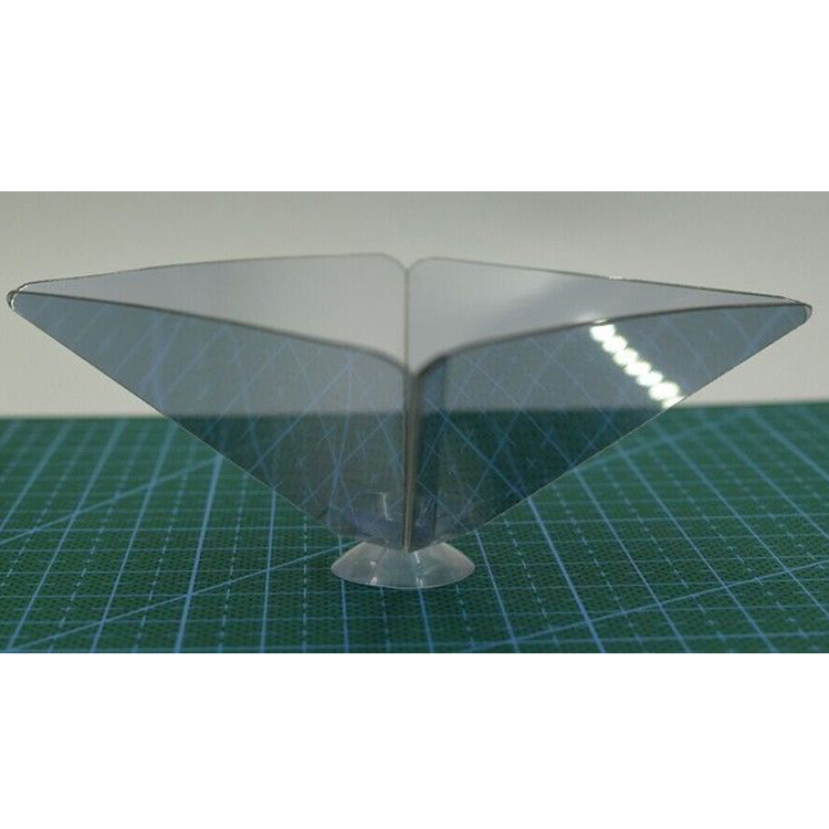 Hot Selling Phone Lens Accessory Stand 3D Holographic Display Pyramid Projector for Most Smart Cell Phone