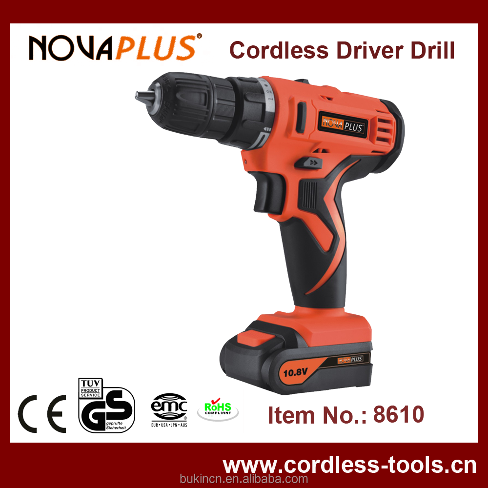 Comfortable soft Hand 10.8V Cordless Drill Professional Machine Drill