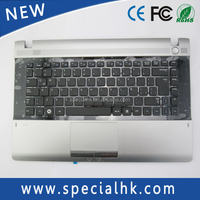 2015 New Model For Samsung RV411 RV415 RV420 RC410 Keyboard with Palmrest TouchPad