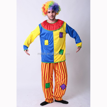 Party Halloween circus fancy adult clown joker Costume MAB-80