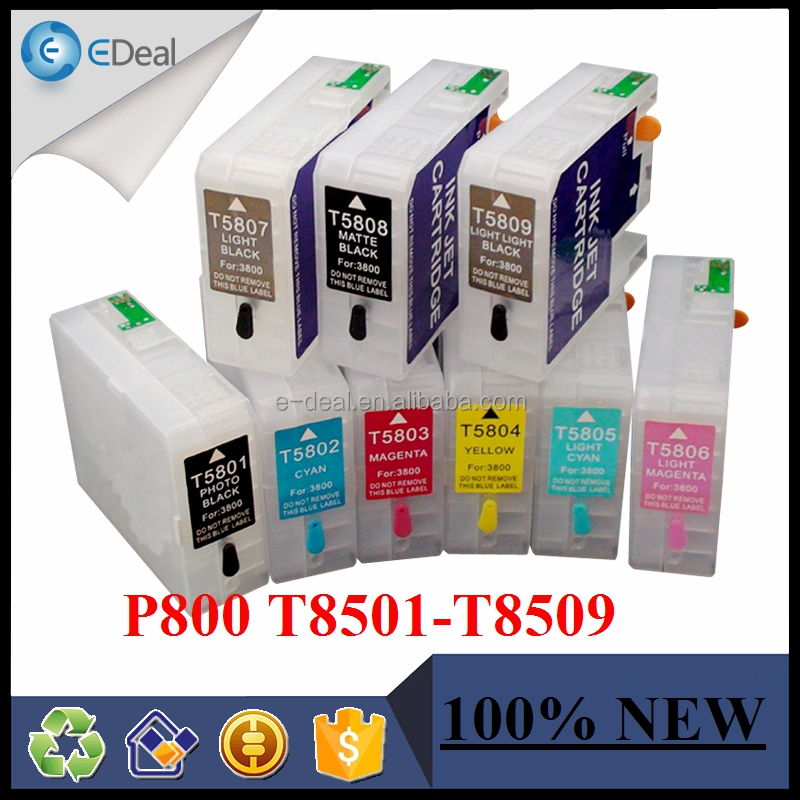 90ml refill ink cartridge for Epson surecolor P800 printer