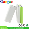 Guoguo 2A Output External Battery Pack Dual Ports 13200mAh 18650 Mobile Power Bank for iPhone, iPad