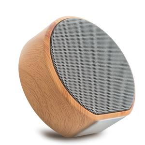 A60 Wood Bluetooth Speaker Portable Wireless Subwoofer MP3 Player FM Radio Audio TF Card USB Handsfree Outdoor Wooden Speaker