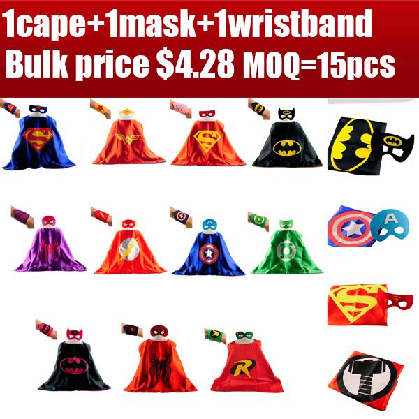 Superhero Wristbands Super hero costume party wrist band