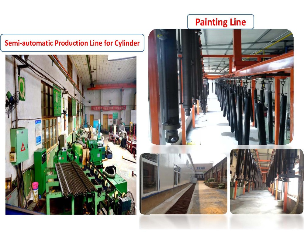 Complete hydraulic system for Steel Production Factory with high quality