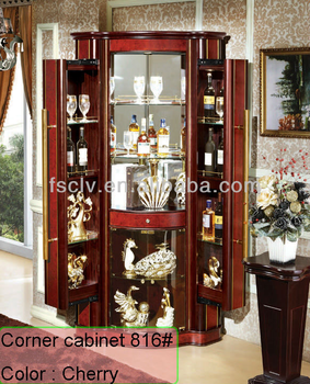 Vintage Wood Corner Living Room Showcase Design Buy Living Room Showcase Design Wooden Glass