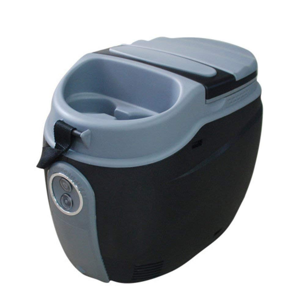 SL&BX Mini Kühlteil,11l Car Refrigerator Dual Purpose Portable Compact Personal Fridge Cools & Heats For Home,Office,Car Or Boat