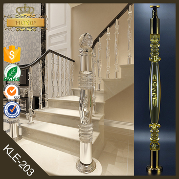 Injection Molding Acrylic Railings For Curved Staircase
