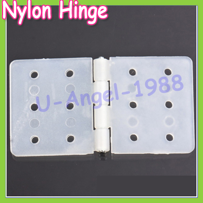 20pcs/lot Nylon Plane Hinge for RC Airplane 20*37mm 15*27mm+free shipping