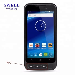 fingerprint reader mobile phone with tv Rugged android barcode reader pda smartphone scanner with WIFI 4G for hospital medical