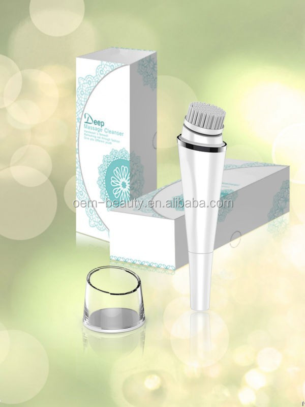 Latest rotating face skin cleaning brush,electric facial brush deep cleaning the face -JTLH-1501