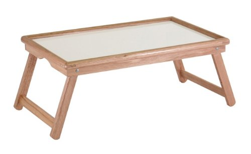 Furniture Detour Bed And Lap Tray Genuine Wood - Foldable Legs